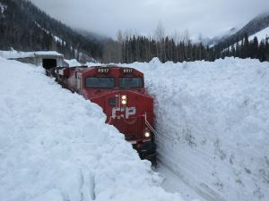 cp train in snow