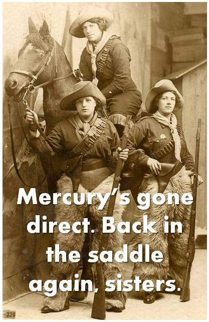 Mercury cowgirls - crop